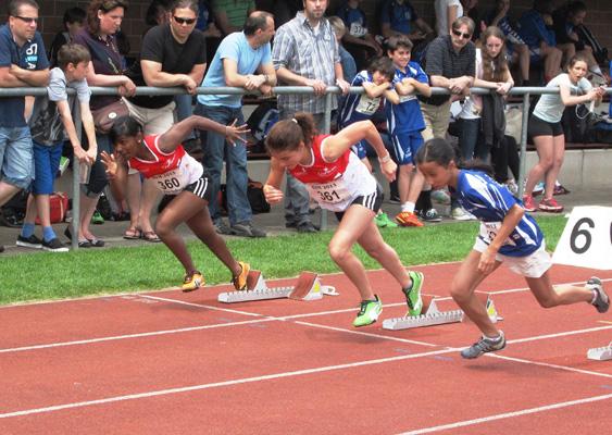 SVM Sprint Sethunka und Salome und Fiona Ausschnitt