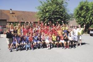 Im Juniorenlager hatten alle viel Spass. Bild zvg