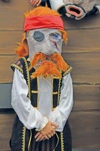 Ein Piraten-Prachtsexemplar.