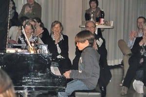 Kleine grosse Meister am Piano. Bilder: Petra Geuke.