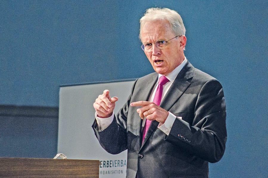 Hans-Ulrich Bigler, Direktor des Schweizerischen Gewerbeverbandes. Bilder zVg.