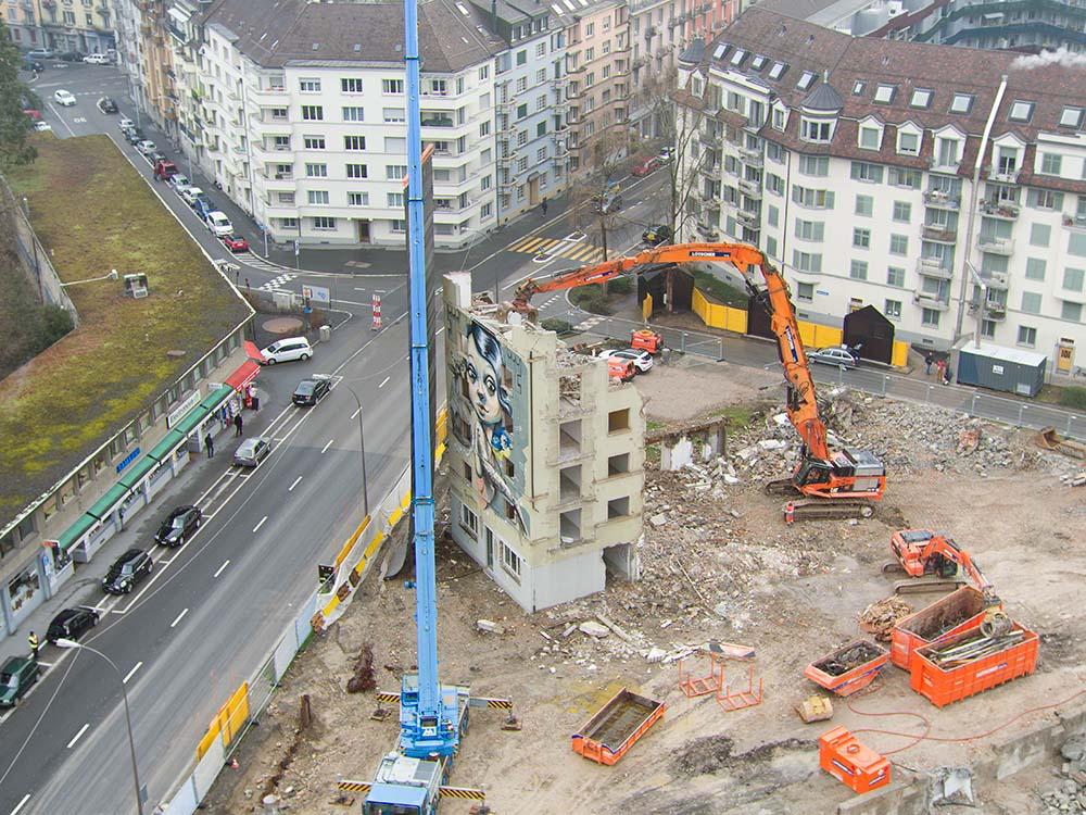 Himmelrich Abriss Luzern