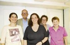 Der Vorstand des HCRP mit Caroline Scheidegger, Peter Steiner, Alexandra Wobmann, Manuela Bühlmann und Lisbeth Küng. Bild zVg.