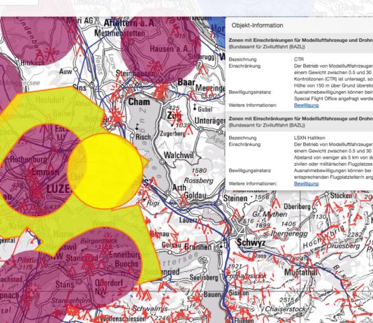 Auf einer Karte des Bundes kann man sich über die geltenden Bestimmungen in einzelnen Regionen informieren. Bild map.geo.admin.ch