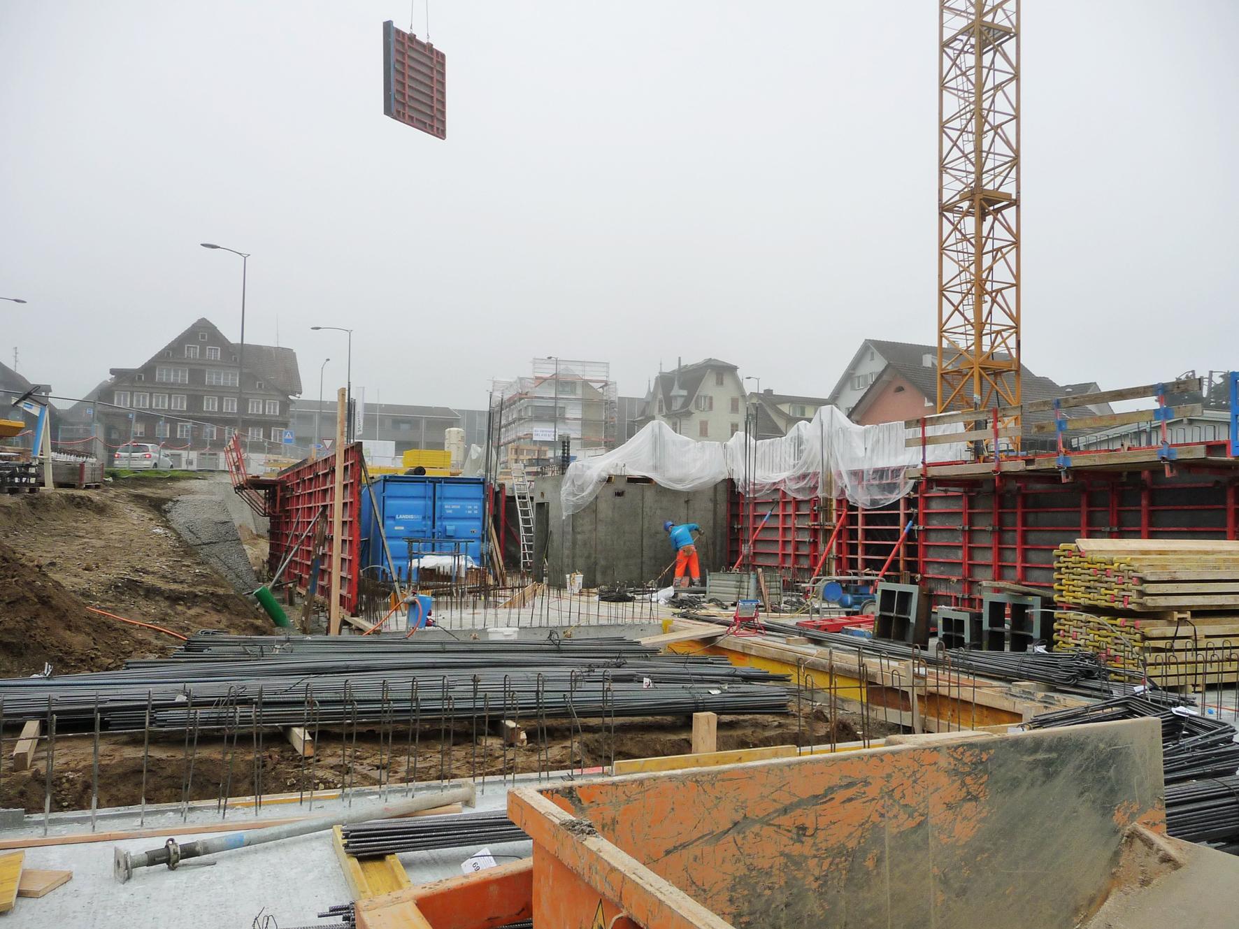 Mit dem Bau des Wohnraums wurde bereits im Oktober 2016 begonnen. Bild Sandra Auf der Maur