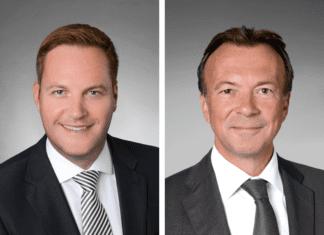 Erfahrenes Doppel: Jan Wengeler und Ronnie Hürlimann übernehmen die Centerleitung der Mall of Switzerland. Bilder zVg.