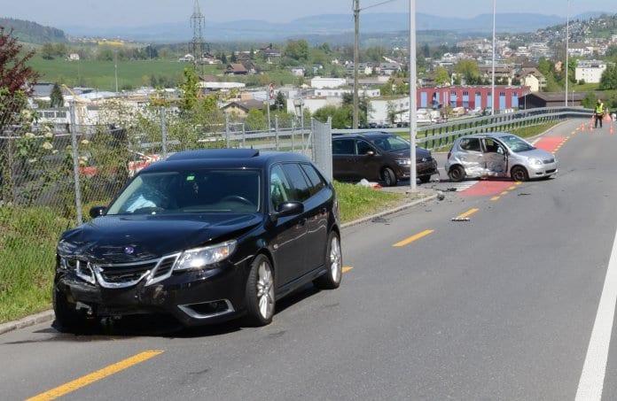 Verkehrsunfall Dierikon / Gisikon