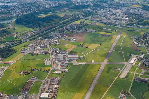 Flugplatz Emmen Copyright: armasuisse