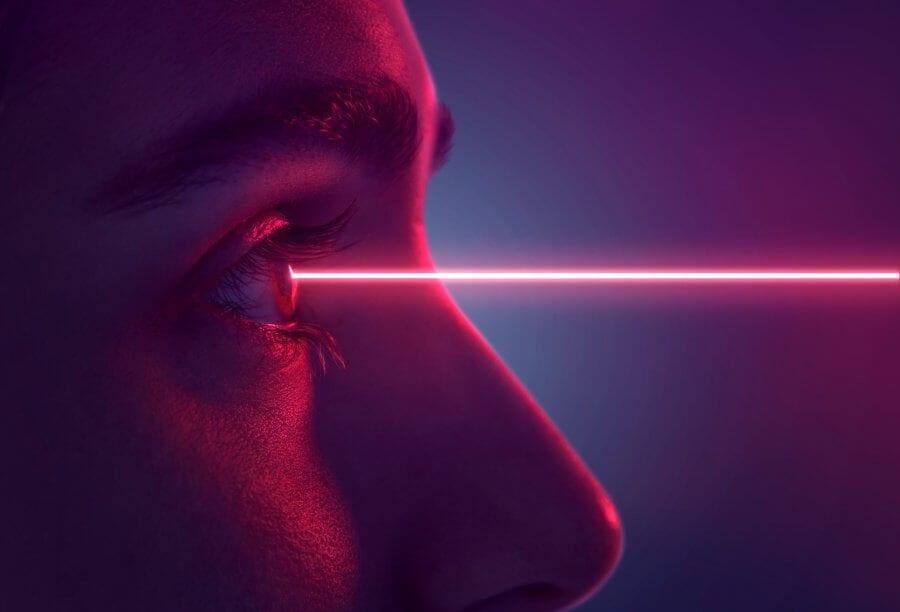 Bei modernen Laserbehandlungen kann der chirurgische Eingriff auf ein Minimum reduziert werden. Bild: Fotolia, © lassedesignen