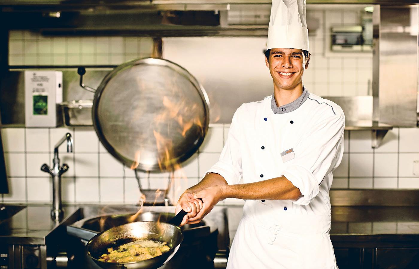 Migros koch for Koch von bonanza