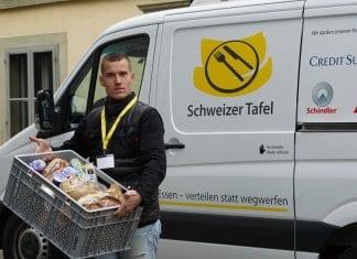 Willkommen bei der Schweizer Tafel Foto: Silvia Bretscher