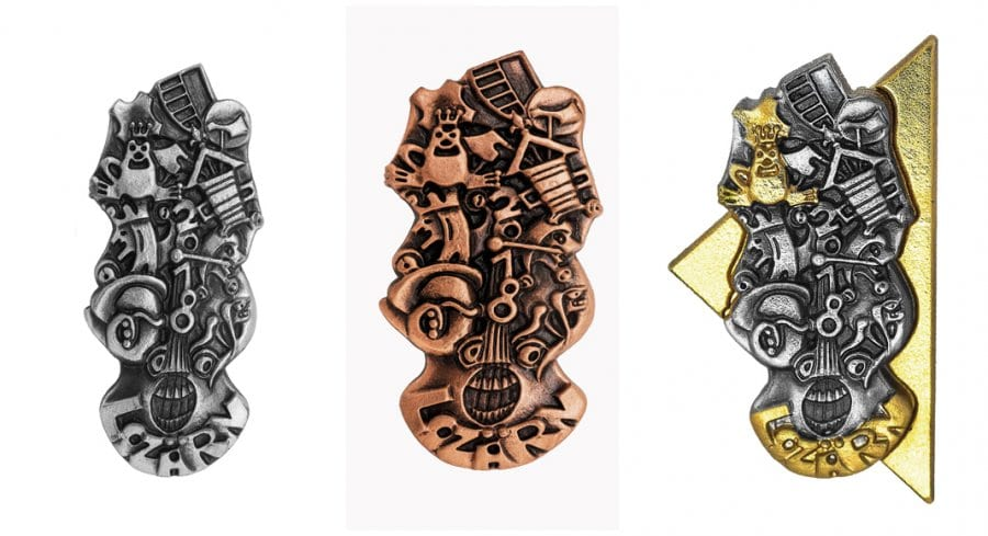 Zum 67. Mal präsentiert das Lozärner Fasnachtskomitée LFK die neue Plakettenkollektion der kommenden Fasnacht. Entworfen hat sie der bekannte Luzerner Masken- und Plakettenkünstler Hugo Stadelmann, der als grosser Sieger aus dem diesjährigen Wettbewerb hervorging.