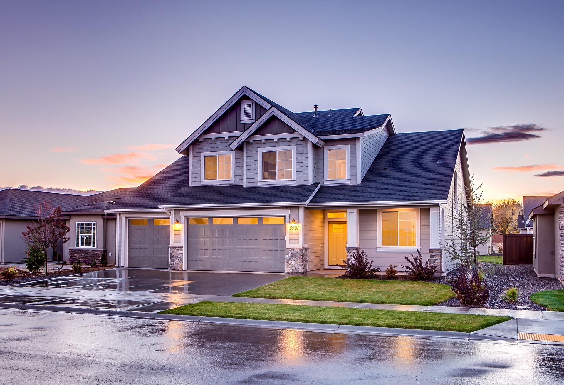 Ein Hübscher Einfahrtsbereich Wertet Jedes Haus Auf